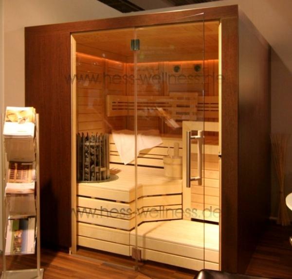 kn llwald helo sauna cupreme 234 x 234 cm. Black Bedroom Furniture Sets. Home Design Ideas