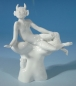 Mobile Preview: Figur Faun und Faunin, Meissen, Entwurf Peter Strang, H: 10 cm