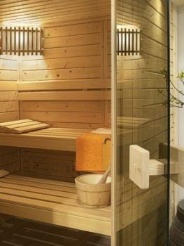 helo sauna casa typ 3 180 x 180 cm 44 mm. Black Bedroom Furniture Sets. Home Design Ideas