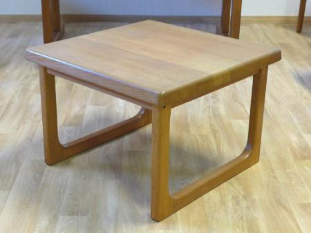 couchtisch massivholz 1960 1970 danish design d nemark. Black Bedroom Furniture Sets. Home Design Ideas