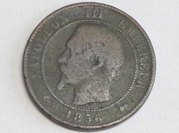 Münze 10 Centimes 1856 D Frankreich Napoleon Iii D 30 Mm