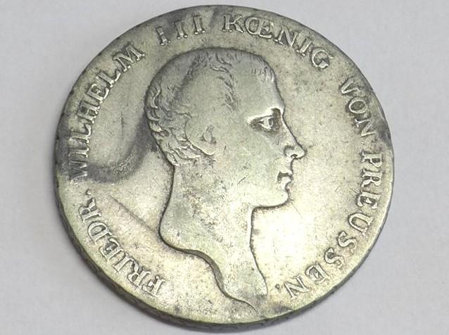Münze Taler 1 Reichsthaler 1814 A Brandenburg Preussen Friedrich