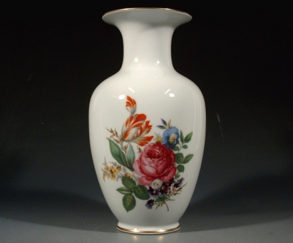 reichenbach grosse vase blumenbukett h 28 5 cm. Black Bedroom Furniture Sets. Home Design Ideas