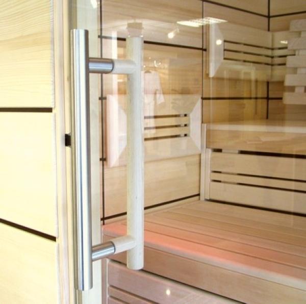helo comfort sauna typ 3 220x220x220 cm. Black Bedroom Furniture Sets. Home Design Ideas