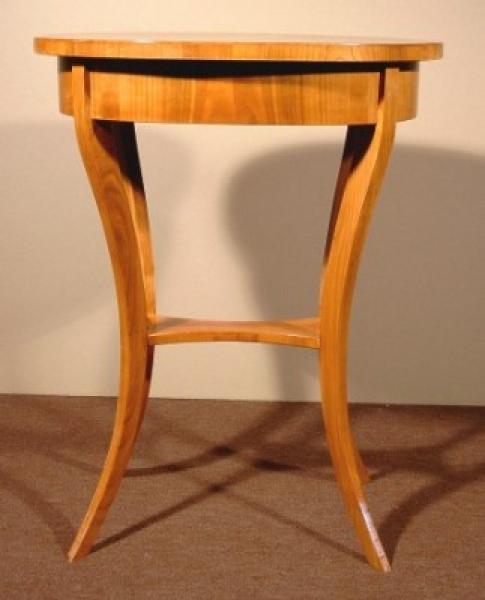 beistelltisch kirschbaum massiv und furniert 71x54 5x40 5 cm. Black Bedroom Furniture Sets. Home Design Ideas