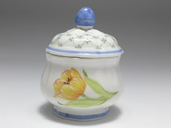 Zuckerdose, Villeroy & Boch, Flower Dream, H: 11 cm