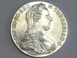 Münze Maria Theresia Taler, 1780 S. F., Österreich, Silber, D: 40 mm