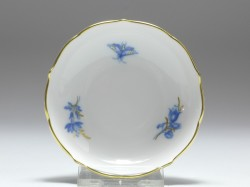 bowl, Aquatinta - flower subjects, Meissen, 1st quality, D: 8 cm