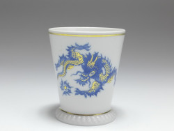 mug, Ming Dragon, aquatint, Meissen, 1st quality, H: 8,5 cm